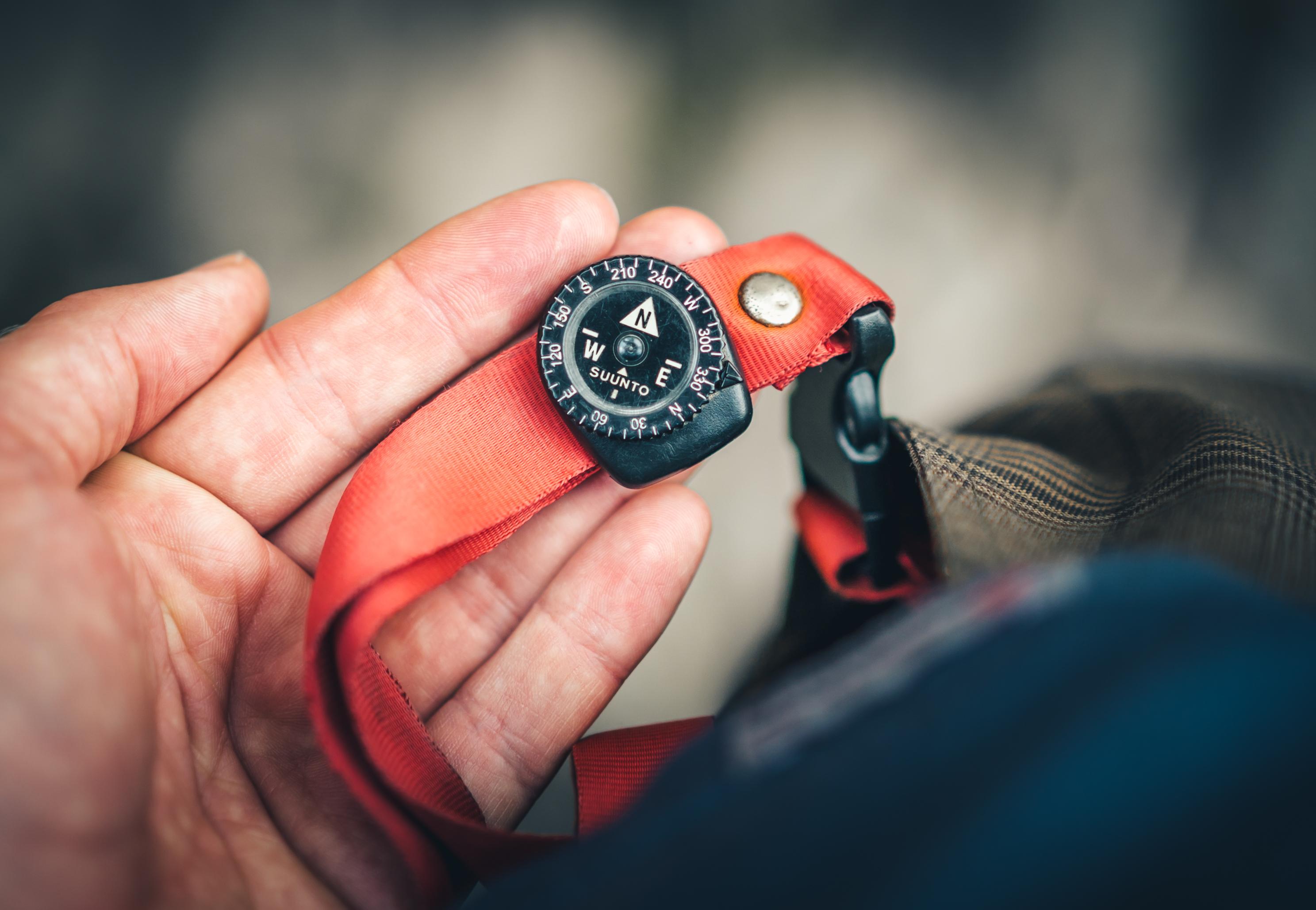 Tiny realiable travel compass from Suunto