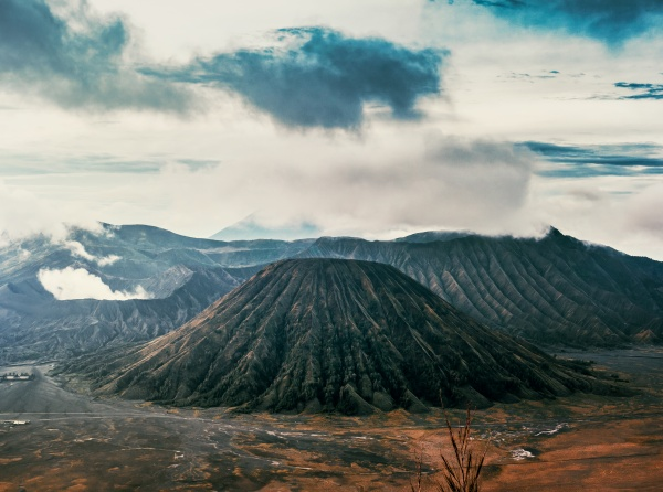 Sunrise at Mount Bromo in Central Java, Indonesia